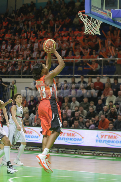 Cappie Pondexter #23 jump attack