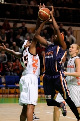 UMMC Ekaterinburg vs Ros Casares Valencia. FIBA Euroleague 2009-2010. December 16, 2009