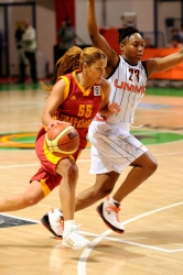 UMMC Ekaterinburg vs Galatasaray Istanbul. FIBA Euroleague 2009-2010. November 18, 2009