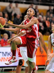 UMMC Ekaterinburg vs TEO Vilnius. FIBA Euroleague 2009-2010. October 28, 2009