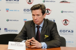 "Vyacheslav ""Slava"" Bykov, head coach of HC Salavat Yulaev Ufa and Russia National team"