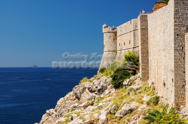 the Walls of Old City of Dubrovnik
