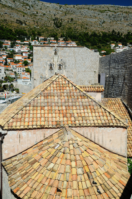 Roofs' geometry and bells of Church of Our Lady of Mt.Carmel
