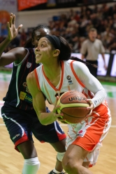 Candace Parker #13 in attack