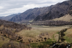 Altai in the earlier spring